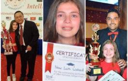 بالصور   نور ابراهيم (12 سنة) الطفلة الأذكى في العالم !!!