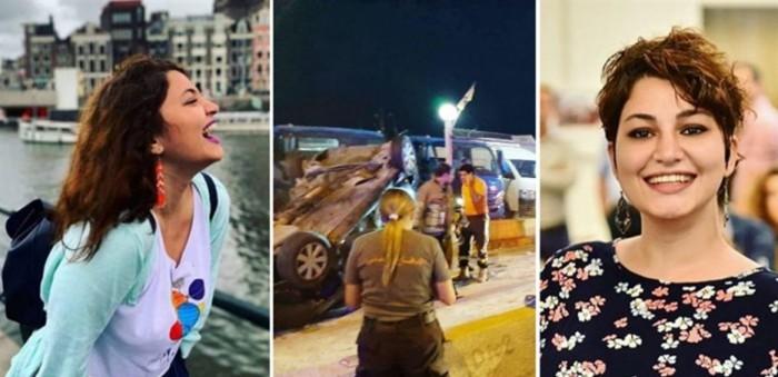 بالفيديو | هكذا وقع حادث السير الذي أودى بحياة نادين جوني