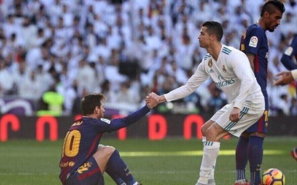 بالفيديو | رونالدو وميسي بفريق واحد في الموسم المقبل